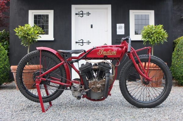 1926 Indian Altoona Factory Racer - Bains