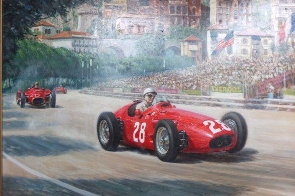 European Oil Painting Monaco Bains