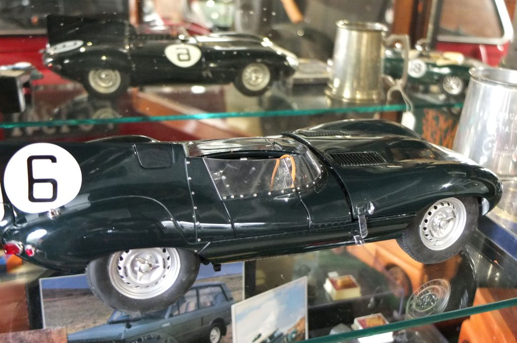 Limited Edition D Type Jaguar Model