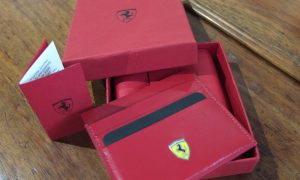 Official Ferrari Italian Leather Wallet